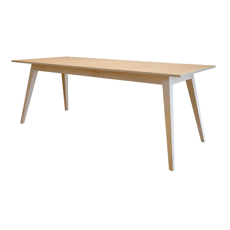 6 seat maple dining table