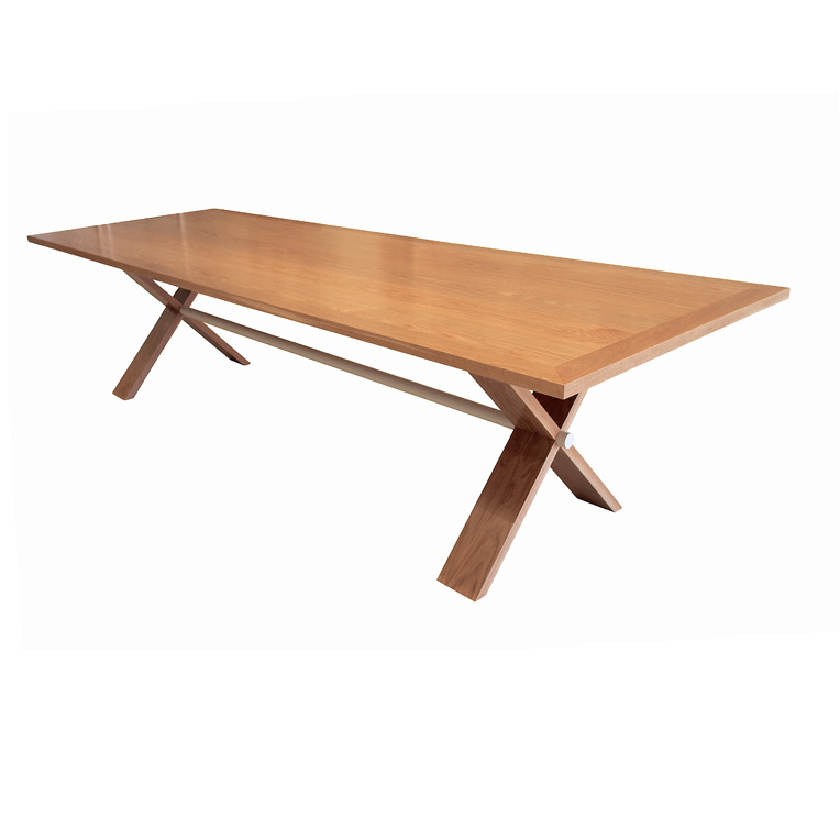 Natural American Oak dining table