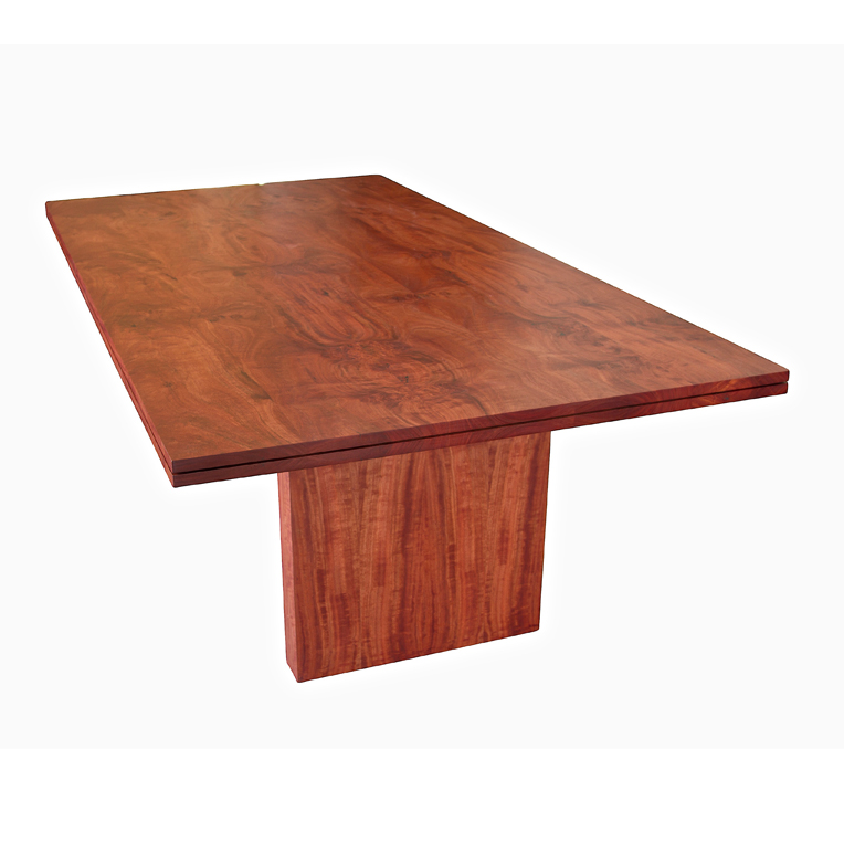 Solid Red Gum dining table