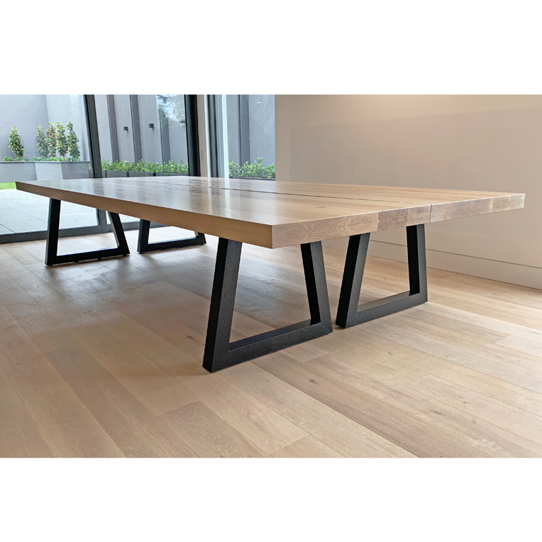 16 seat Oak dining table